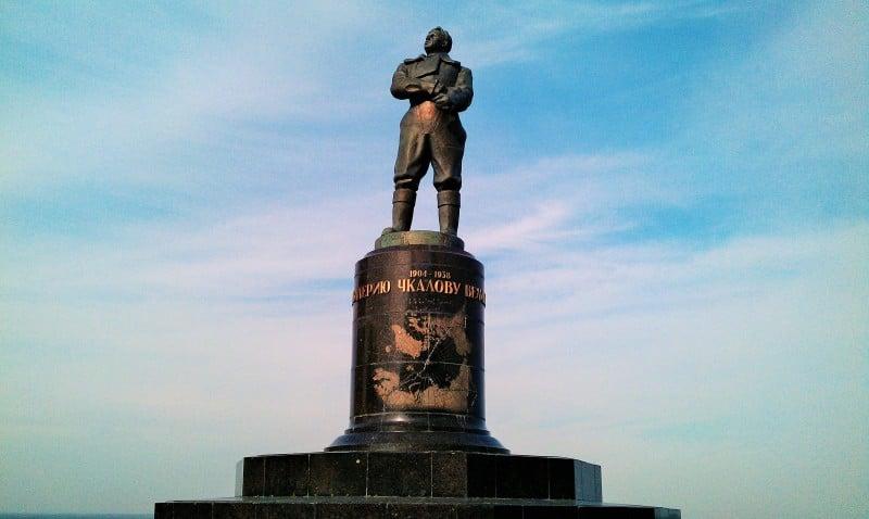 Valery Chkalov Monument