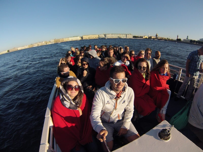 Boat Tour by day in St. Petersburg