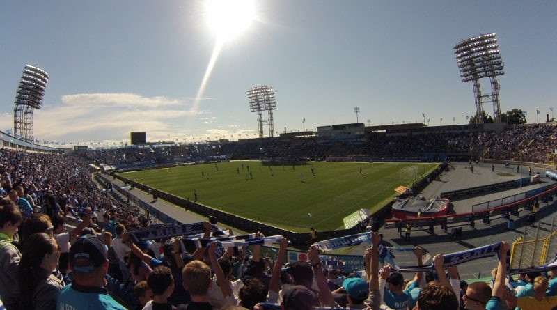 Football Game at the old Zenit Arena
