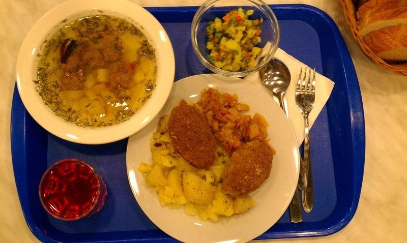 Russian Meatball Soup
