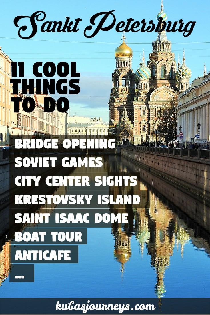 What is interesting in St. Petersburg 43