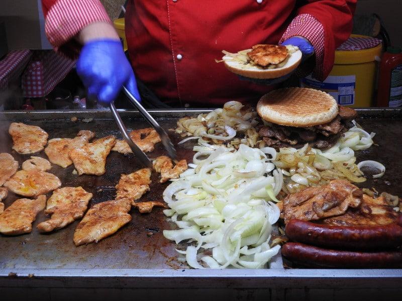 """Ciganska"" is a must try food at Christmas Markets in Bratislava"
