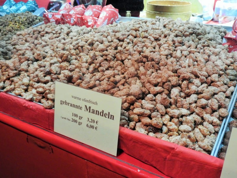 Gebrannte Mandeln – sweet roasted almonds