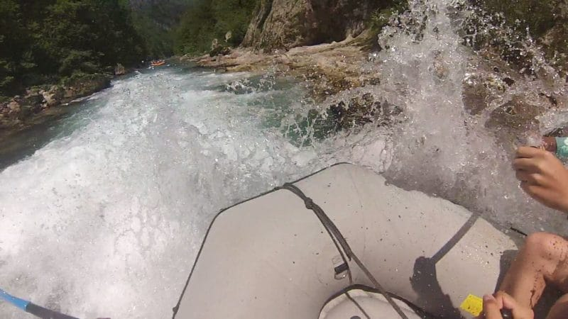 rafting at the Neretva river in Konjic