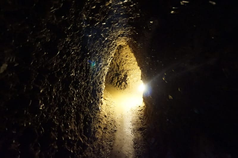 Tunnels under the Bosnian Pyramides