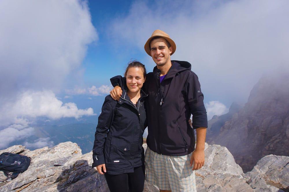 Skala Peak Mt Olympus