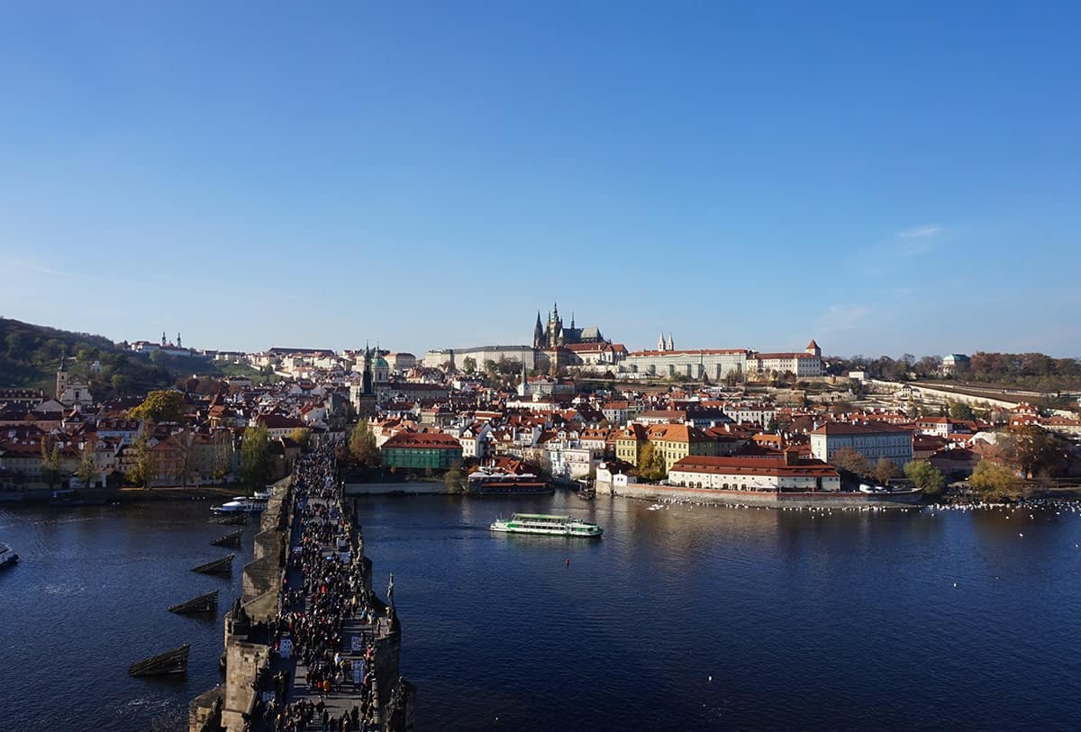 view-from-northern-tower-charles-bridge-in-prague