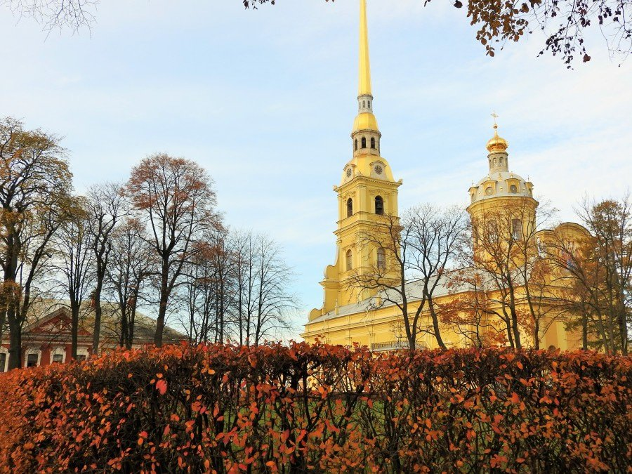 St Peter and Paul fortress - 3 days in St Petersburg