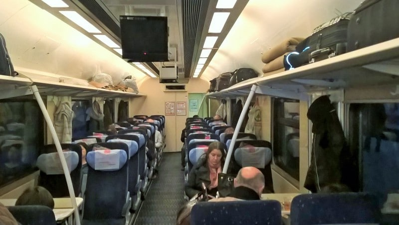 fast train to St. Petersburg