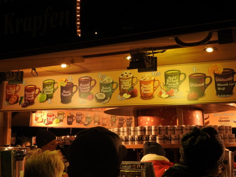 Punsch – there is of course a variety of punch flavors you can try