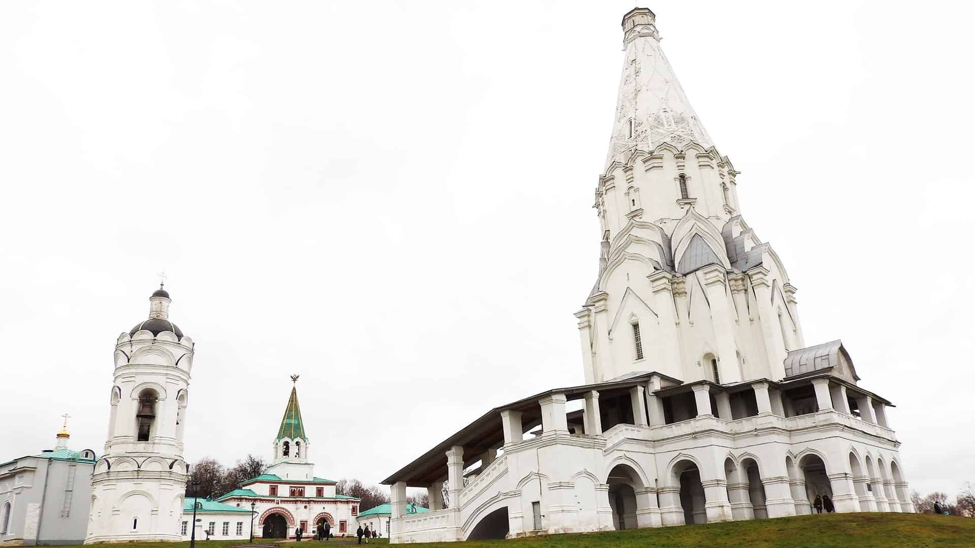 Place to see in Moscow: Kolomenskoye