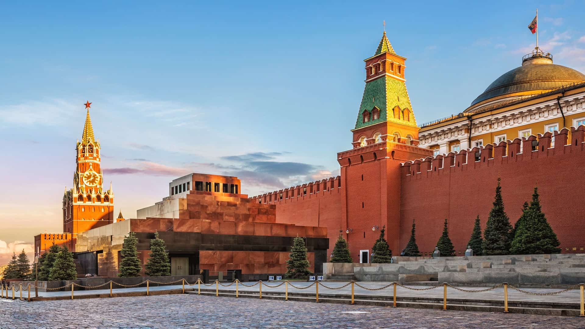 Place to see in Moscow: Lenin's-mausoleum