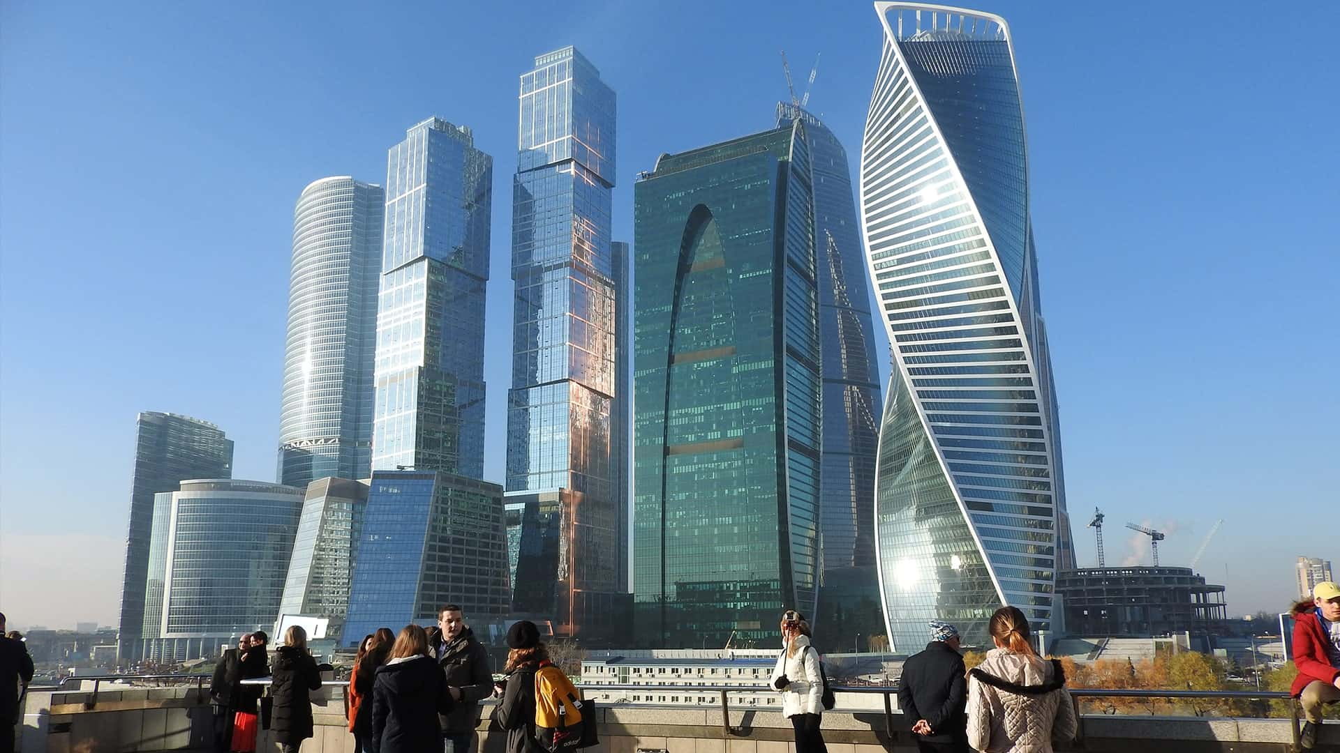 Places to see in Moscow: Moscow-City