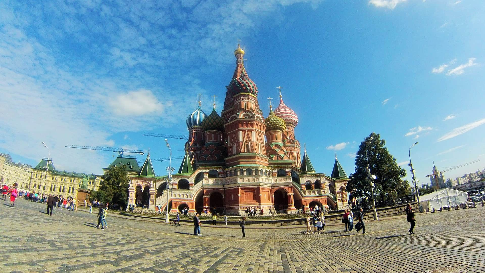 Place to see in Moscow: Red-Square