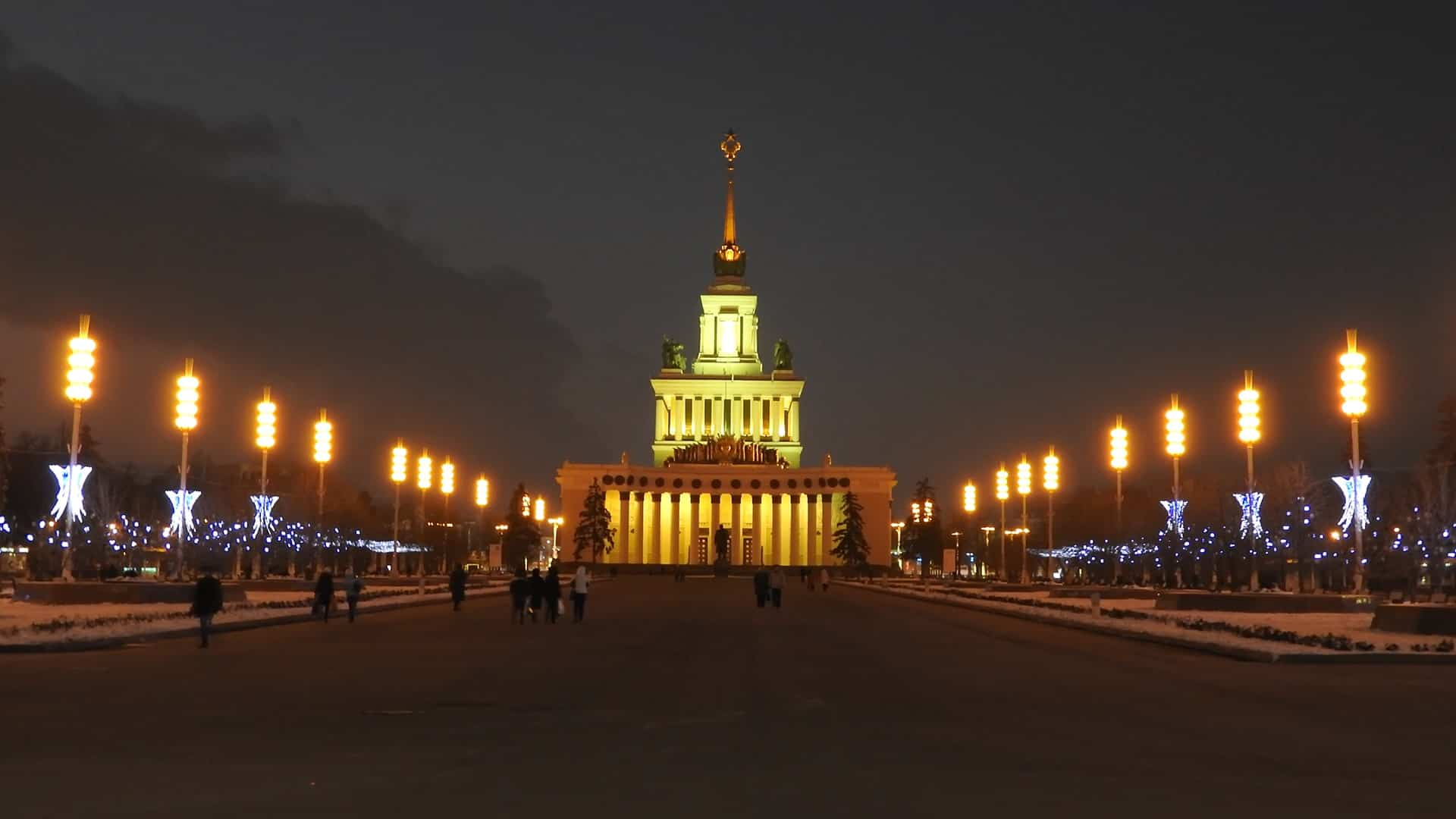 Place to see in Moscow VDNKH