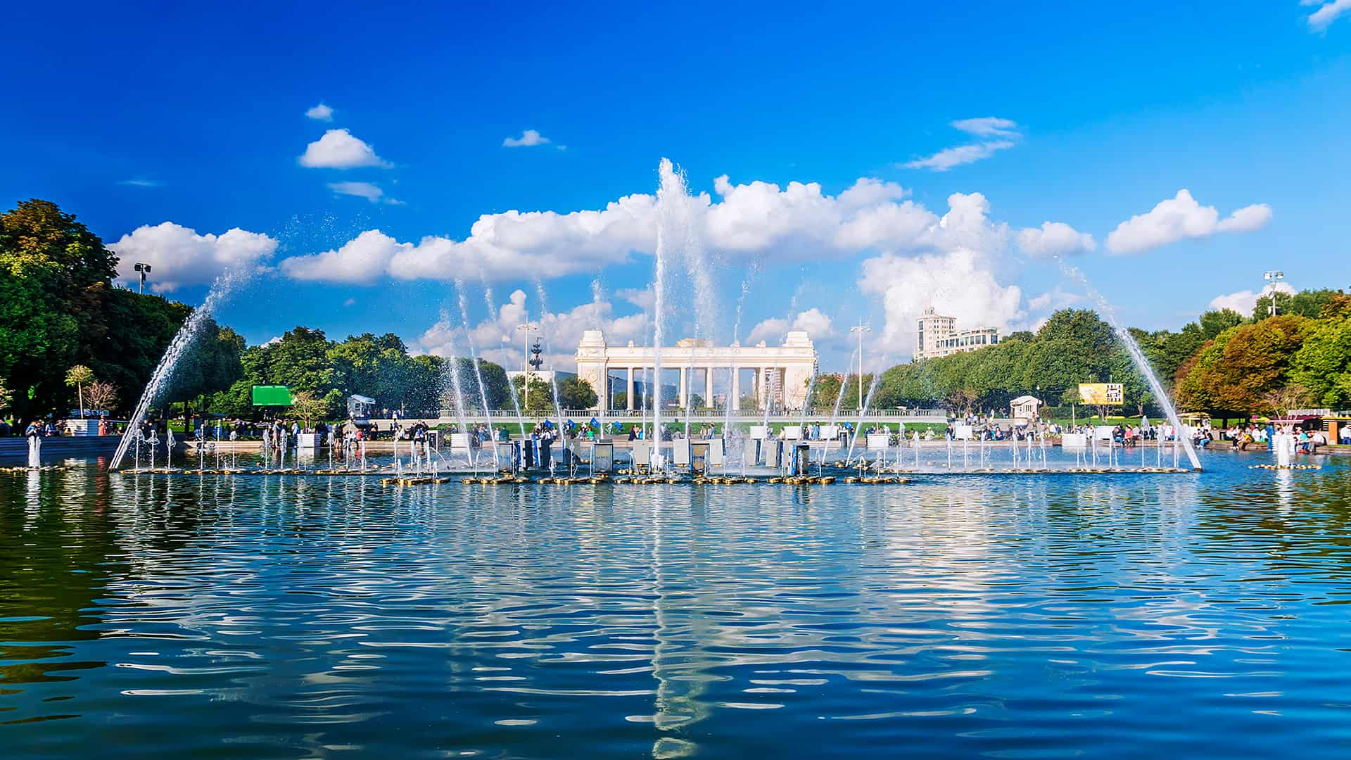 Visit Gorki Park in Moscow