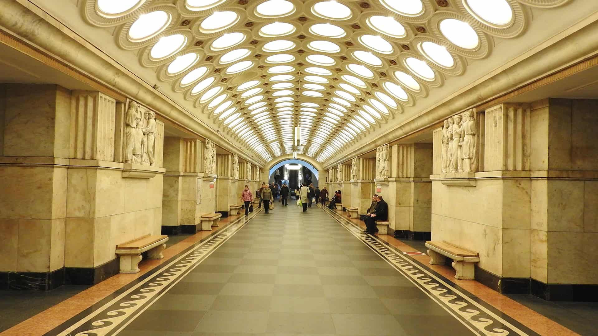 Explore Moscow's Metro