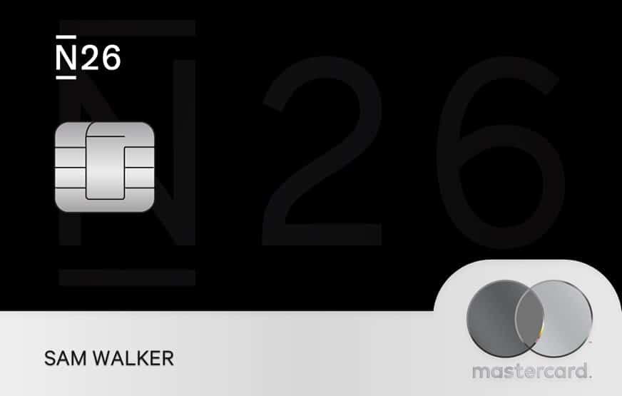 n26-black card