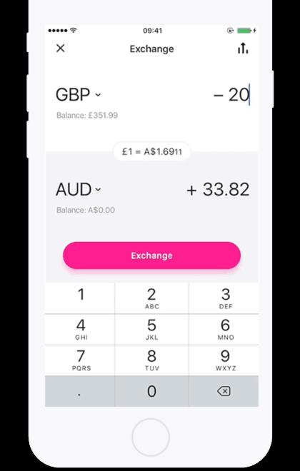 revolut exchange rate