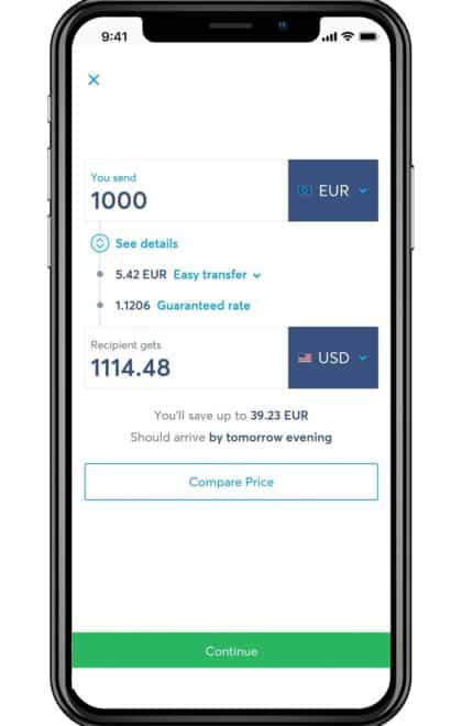 TransferWise Currency Exchange