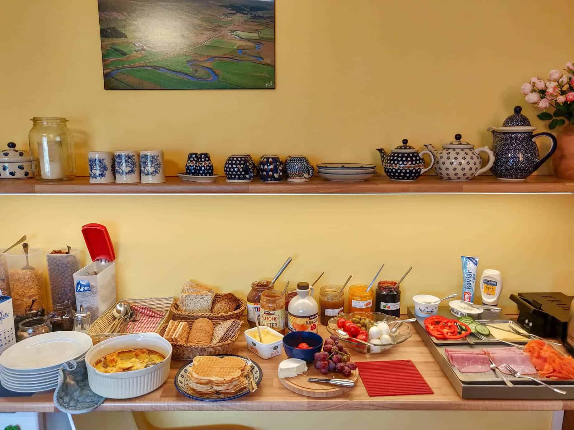 breakfast in iceland