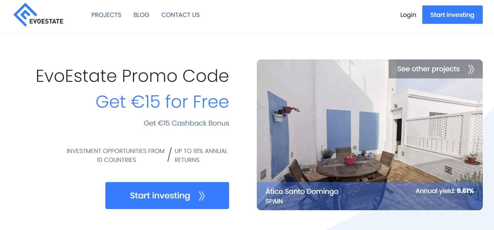 EvoEstate promo code